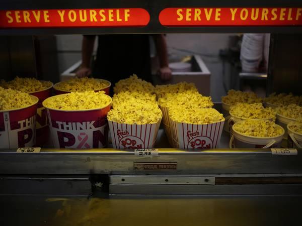 Den moderne blockbusteren er et speilbilde av den moderne kinokiosken, skriver Aksel Kielland.