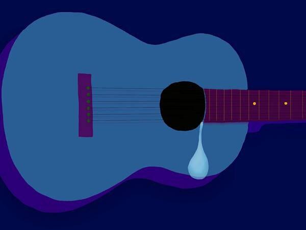 Bruk refleks når gitaren er mørk