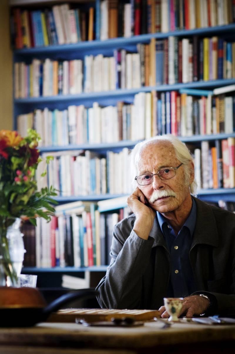 Forfatter og Afghanistan-ekspert Fredrik Barth. Her i sitt hjem i Oslo. 2008-08-26 18:04