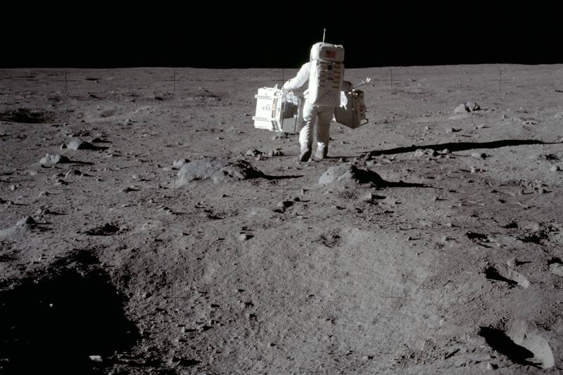 Apollo 11. On July 20, 1969, humanity stepped foot on another celestial body and into history.
