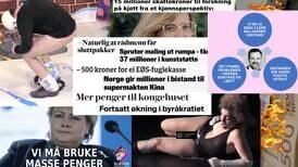 Å presentere finansmenns populistiske trolling av kunstnere som maktkritikk, krever en helt egen type freidighet, skriver Ane Farsethås.