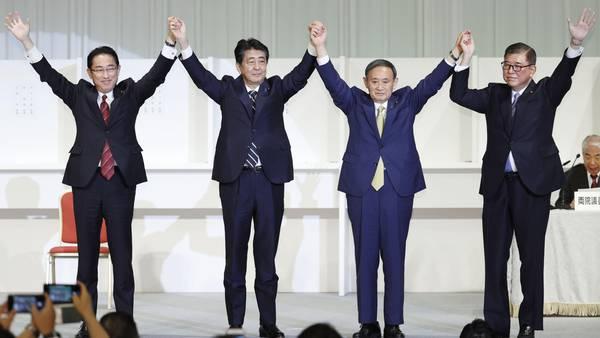 Derfor heter Japans nye statsminister Kishida
