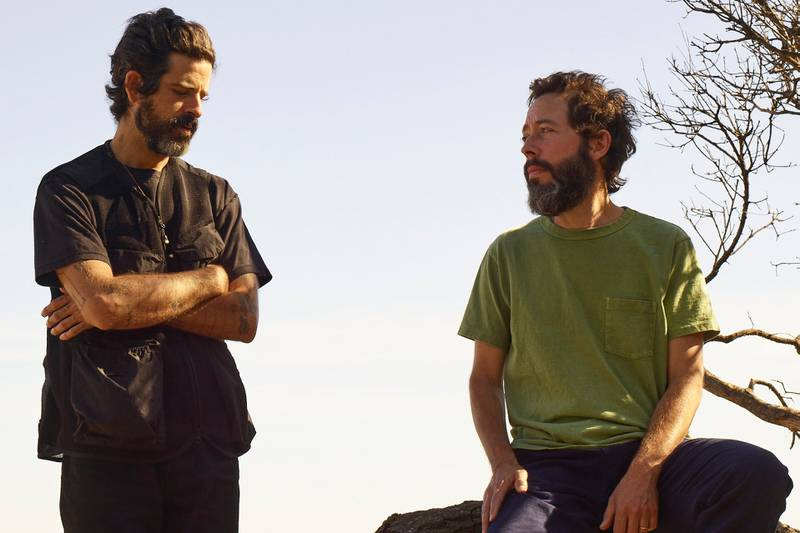 Devendra Banhart and Noah Georgeson